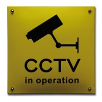 """CCTV in operation"""