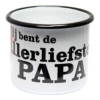 Emaille Liefste Papa mok