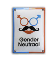 Toiletbord Gender Neutraal