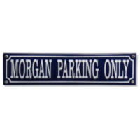 Morgan parking only